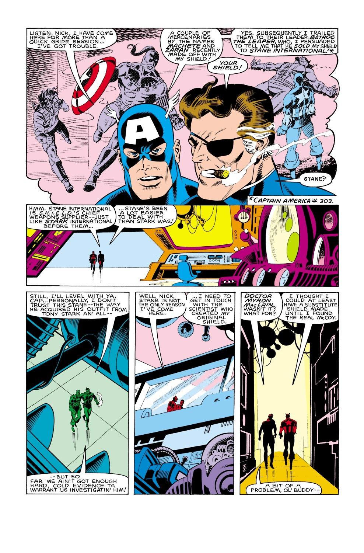 Captain America (1968) Issue #304 #232 - English 5