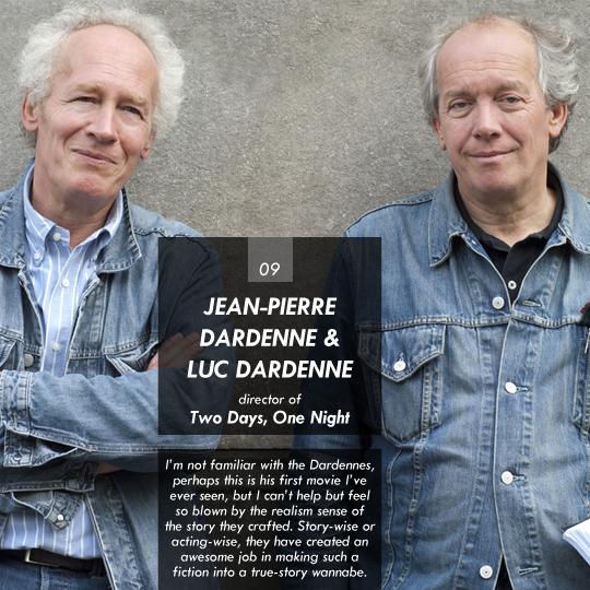 Jean-Pierre Dardenne & Luc Dardenne (Two Days, One Night)