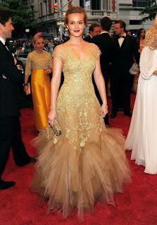 Leighton Meester in Met Gala 2012