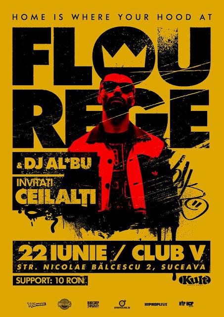 Concert: Flou Rege & DJ Al*Bu @ Suceava – 22.06.2013
