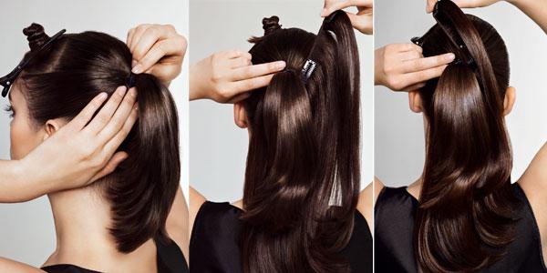 peinados extensiones clip - 7 peinados rápidos y fáciles con extensiones Extensionmania