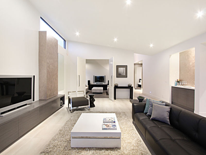 World of architecture home search small contemporary for Living room ideas australia