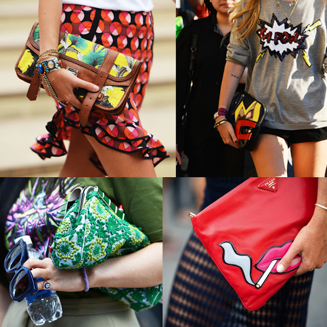 BAGS CLUTCHES STREETSTYLE DESIGNER BAGS