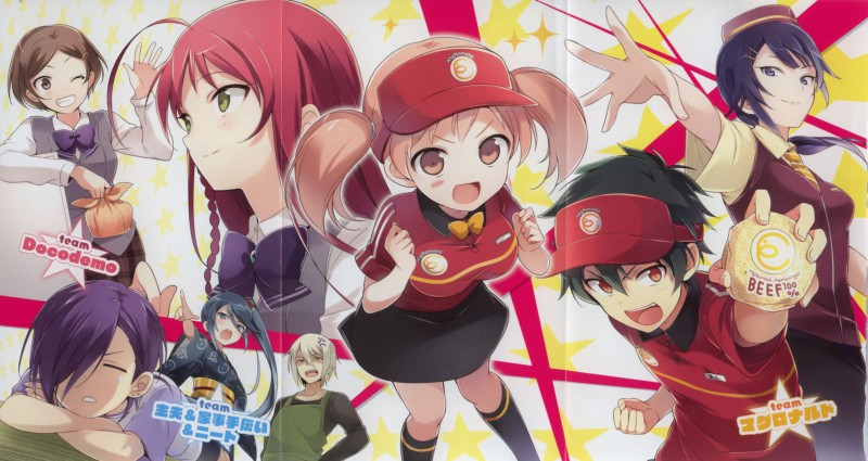 hataraku maou sama 13 subtitle indonesia end   animeindo