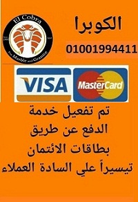 خدمة الدفع عن طريق بطاقات الائتمان