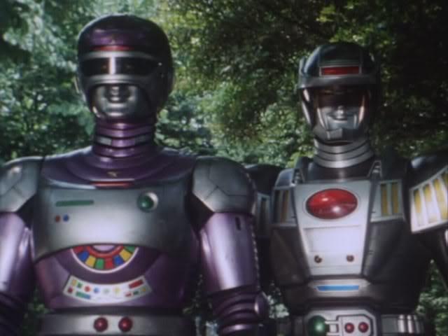 Tokusou Robo Janperson Janperson and Guy Gibson