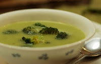 Receta sopa de brocoli