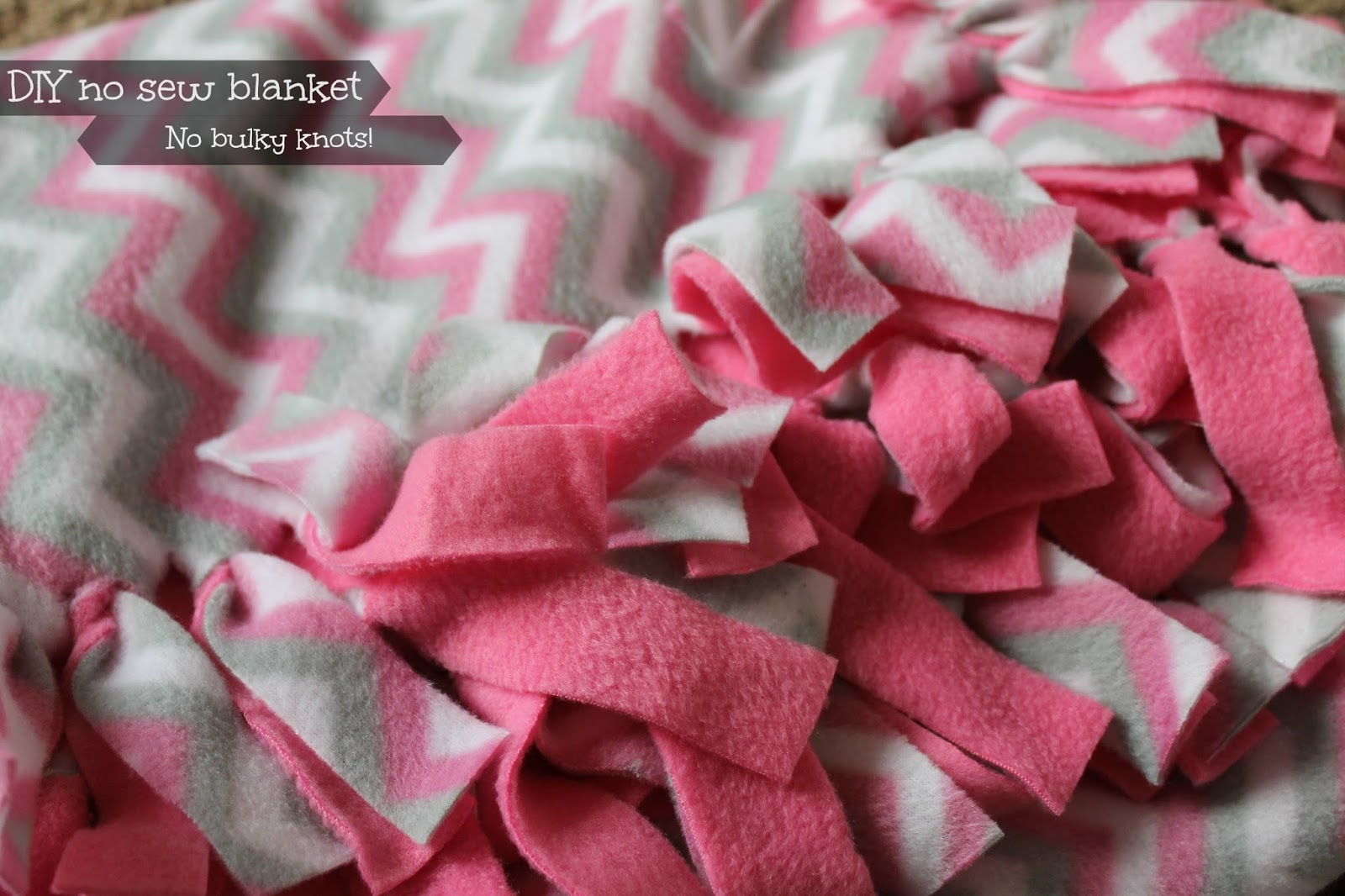 how to finish sewing a blanket