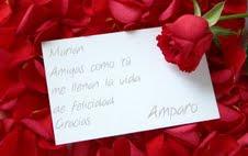 De mi amiga Amparo....