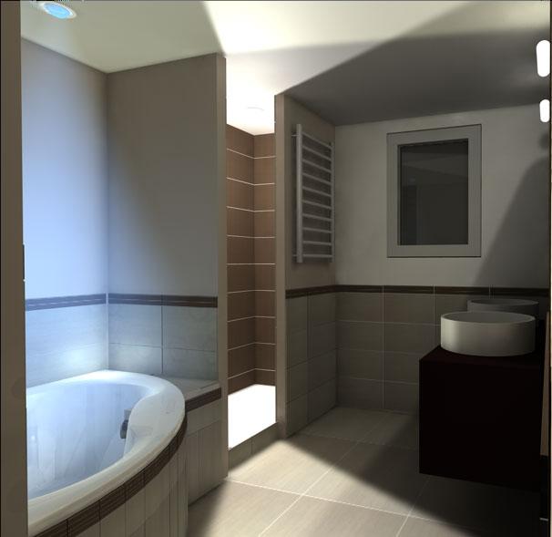 Id es d co mouth essais carrelage de la salle de bain - Autocollant carrelage salle bain ...