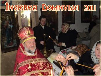 Învierea Domnului 2011, la biserica Sfinţii Împăraţi Constantin şi Elena din oraşul Edineţ