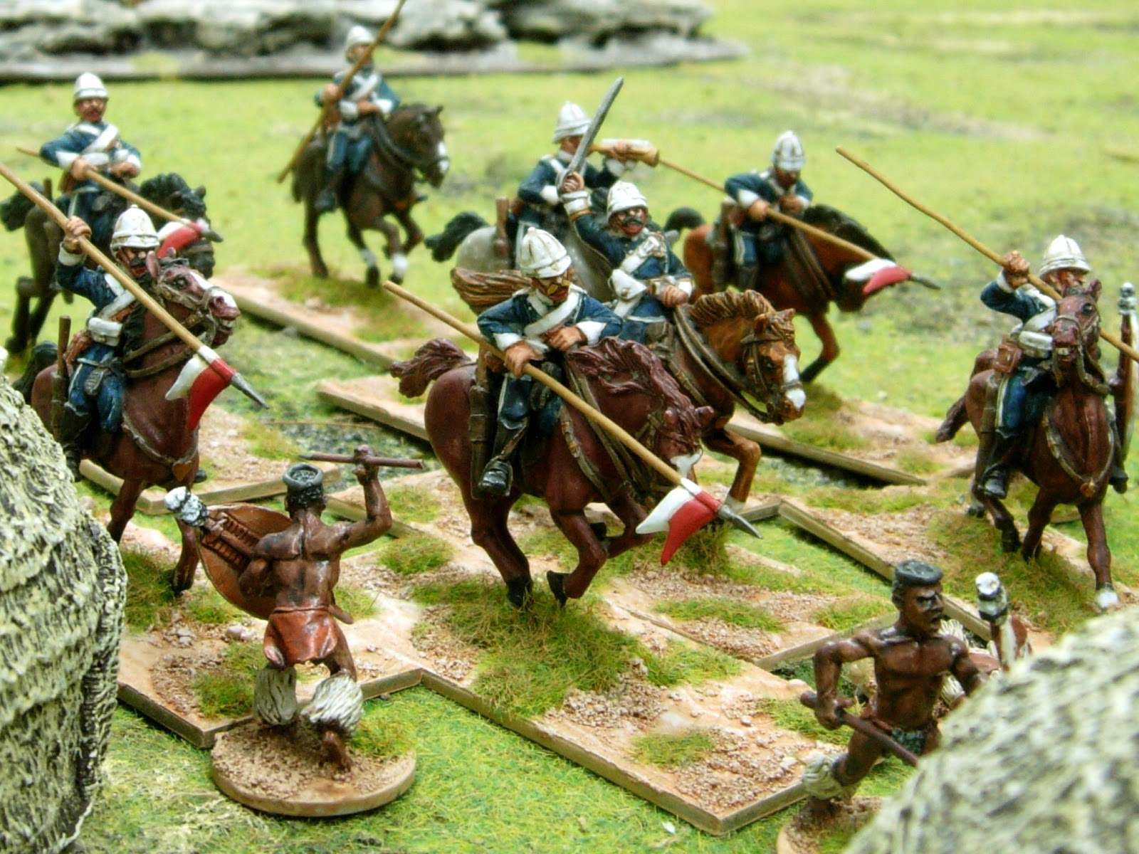 zulu wars The anglo-zulu war was fought in 1879 between britain and the zulusfrom complex beginnings, the war is notable for several particularly bloody battles, as well as for being a landmark in the timeline of colonialism in the region the war signaled the end of the independent zulu nation.