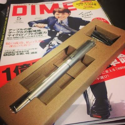 月刊化第一号DIME(ダイム)のオマケの万年筆が良い!!