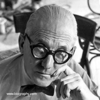 Retrato de Le Corbusier