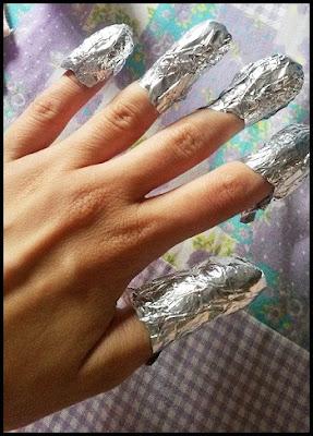 Dica de como remover esmaltes com glitter