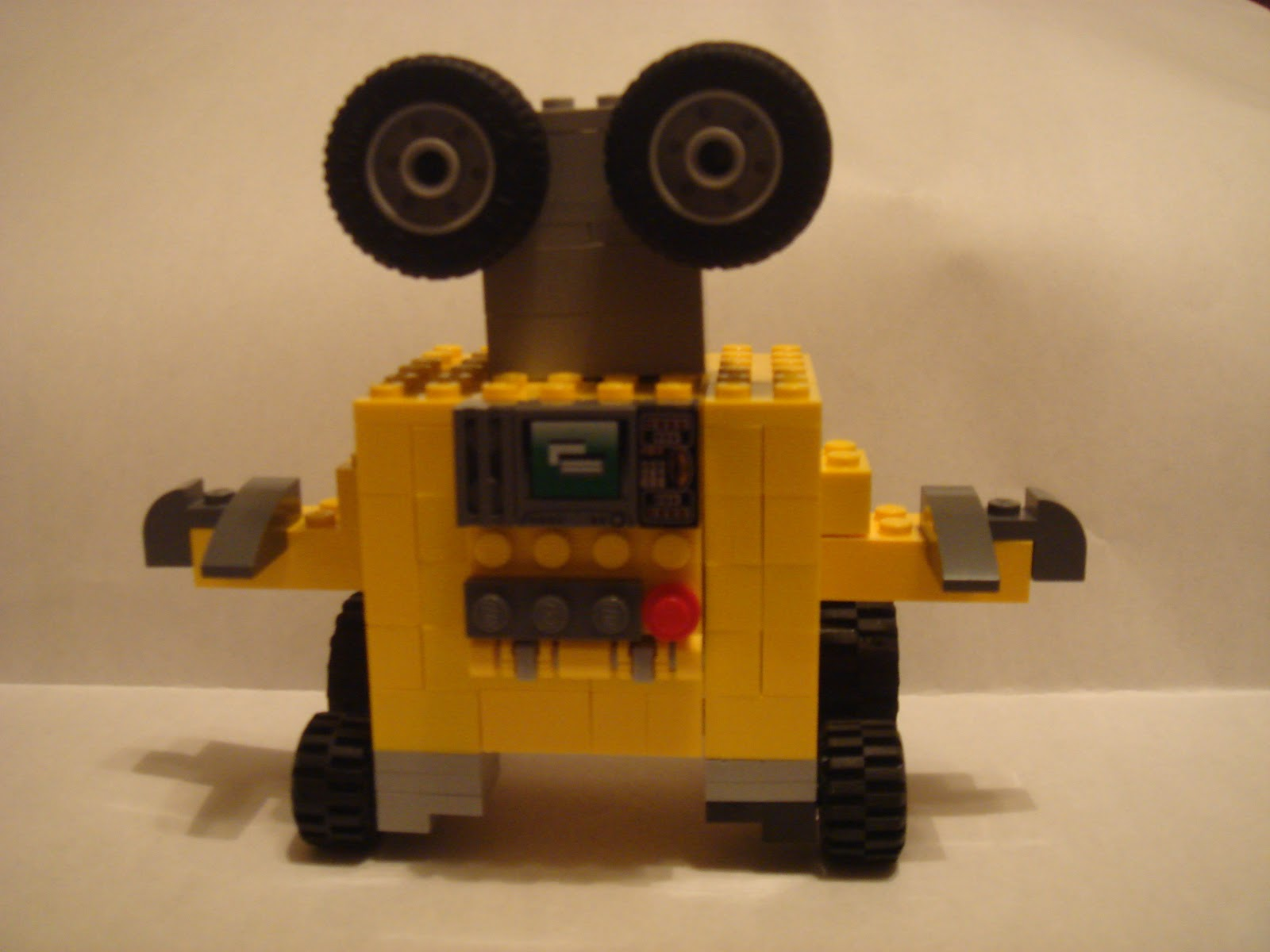 Building Legos With Christ Wall E Lego Creation