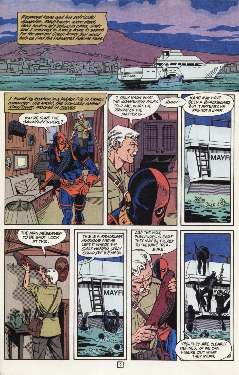 Deathstroke (1991) Issue #31 #36 - English 3