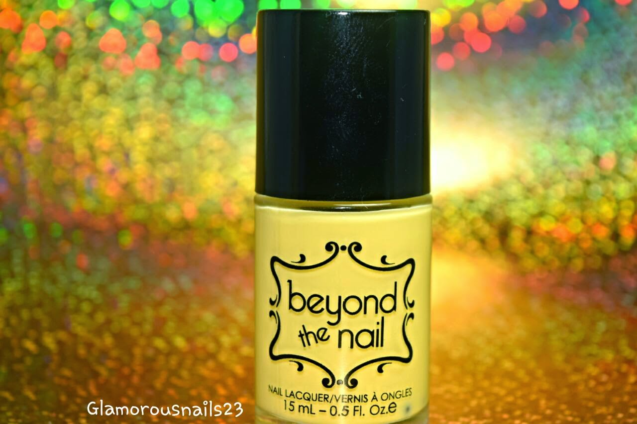Beyond The Nail Spring Yellow