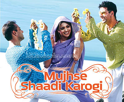 Mujhse Shaadi Karogi hindi movie