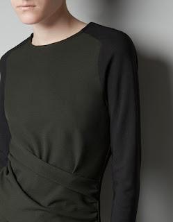 zara şık elbise modeli