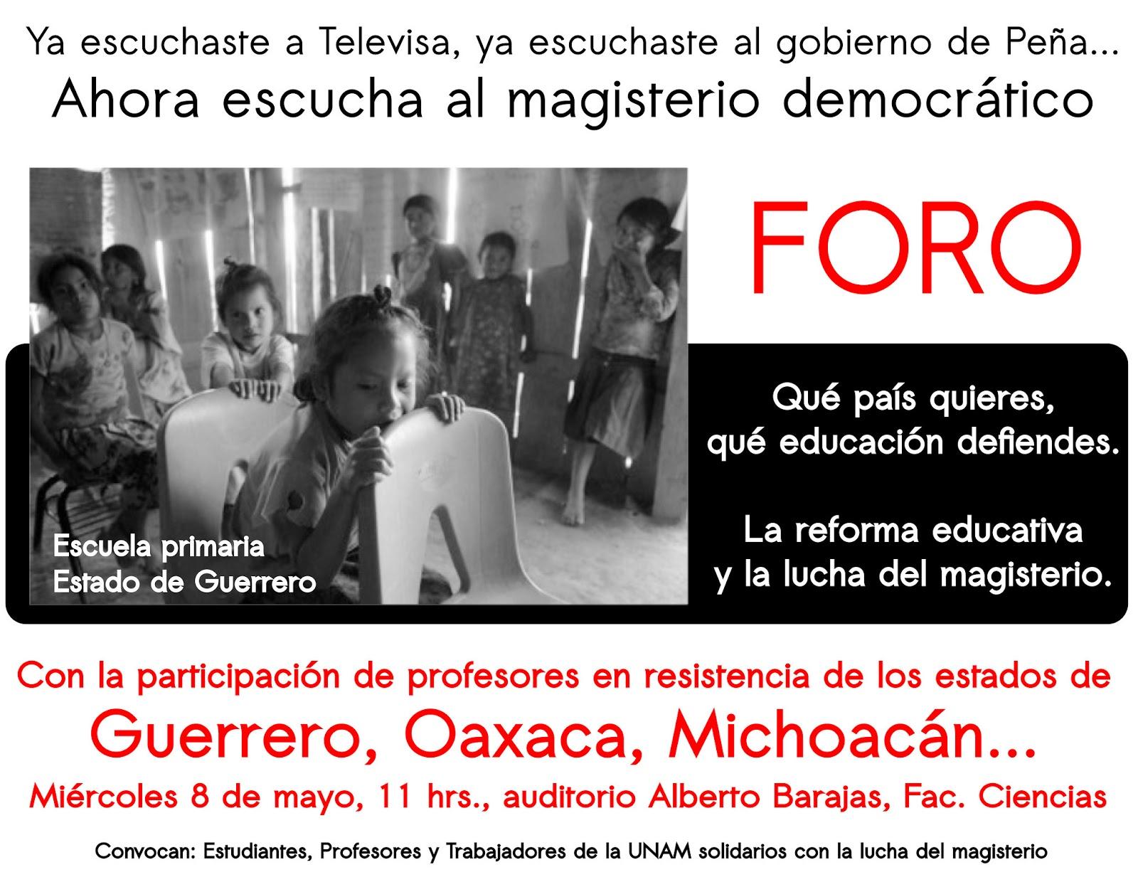 Magisterio hambriento: salario real de profesor de primaria p&uacuteblica del D.F.(TT: Teaching hunger: actual salaries of public primary school teachers in Mexico City): An article from: Siempre! Magdelena Galindo
