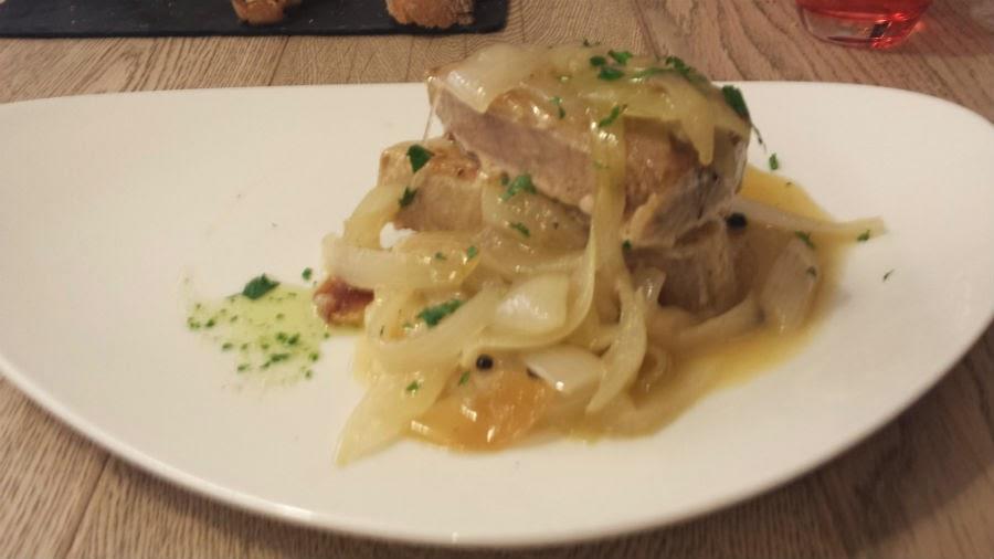 Restaurante parrilla albarracin men s diarios del 19 al - Solomillo de cerdo encebollado ...