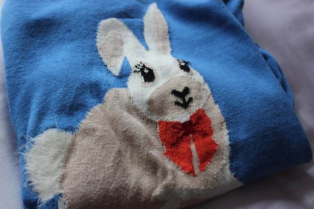 joy louche bunny jumper