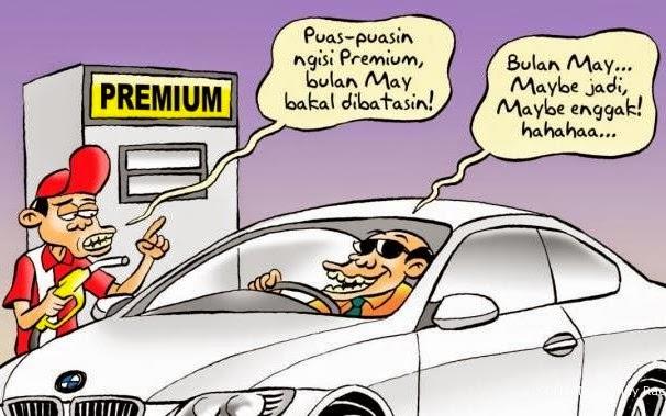 BBM subsidi naik harga