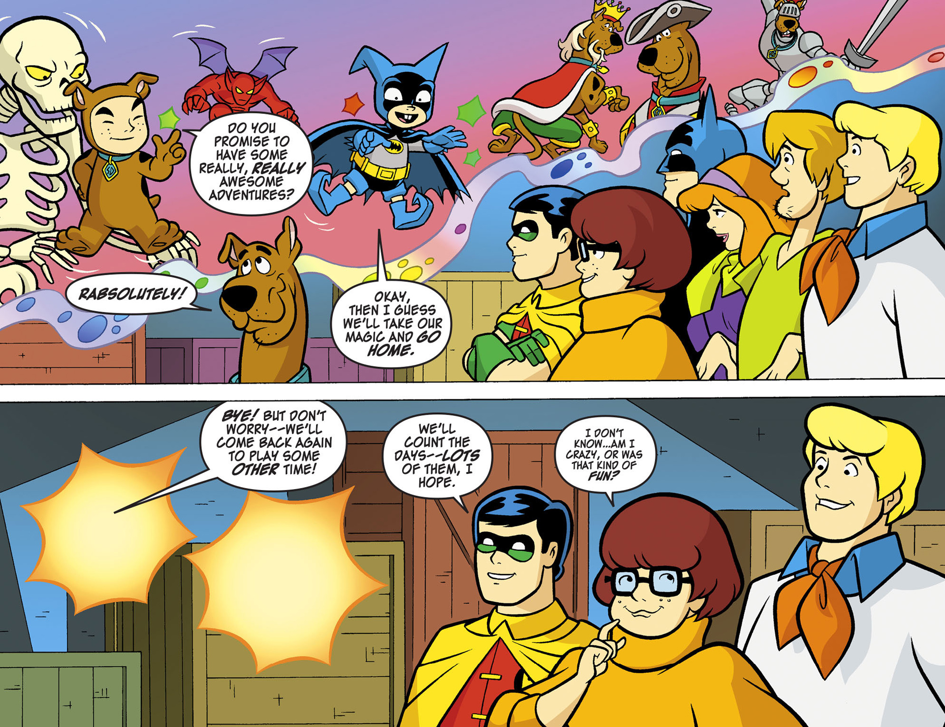 Read online Scooby-Doo! Team-Up comic -  Issue #6 - 19