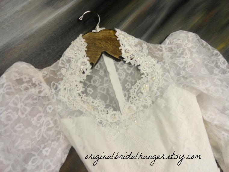 Amy 39 s original bridal hangers wedding dress mustache hanger for Hangers for wedding dresses