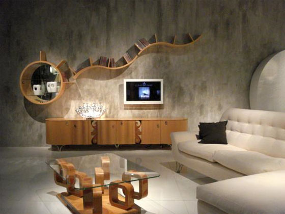 Modern Sitting Room Wood Furniture Design Cabinet Wood Is A Complex
