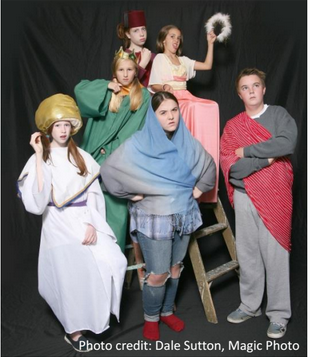 shoreline area news home for the holidays at the edmonds driftwood theatre - Best Christmas Pageant Ever Play