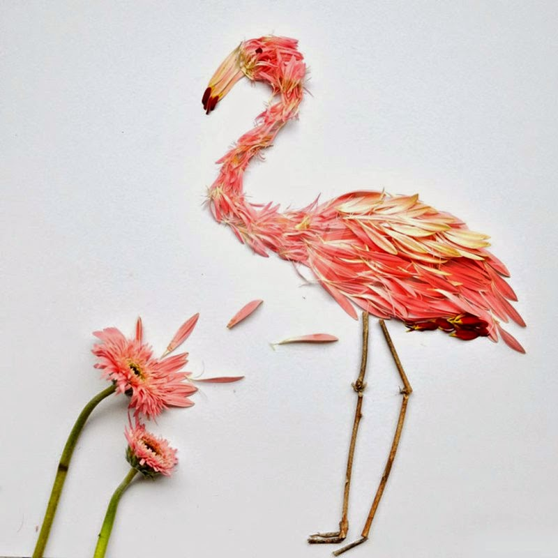 Birds of the petals | Red Hong Yi