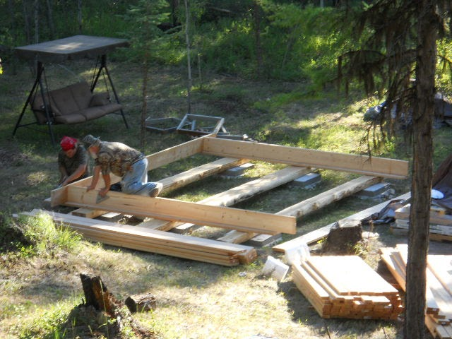 Off grid self sufficient montana homestead life 1 9 for Off grid cabin foundation