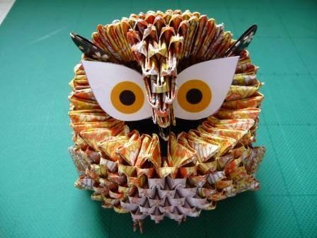beautiful 3d origami