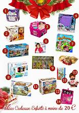 Idées cadeaux de Noël pour les enfants (à moins de 20€) !