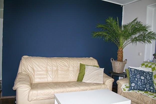 inside 9 B: Wohnzimmer: eine neue Wandfarbe!
