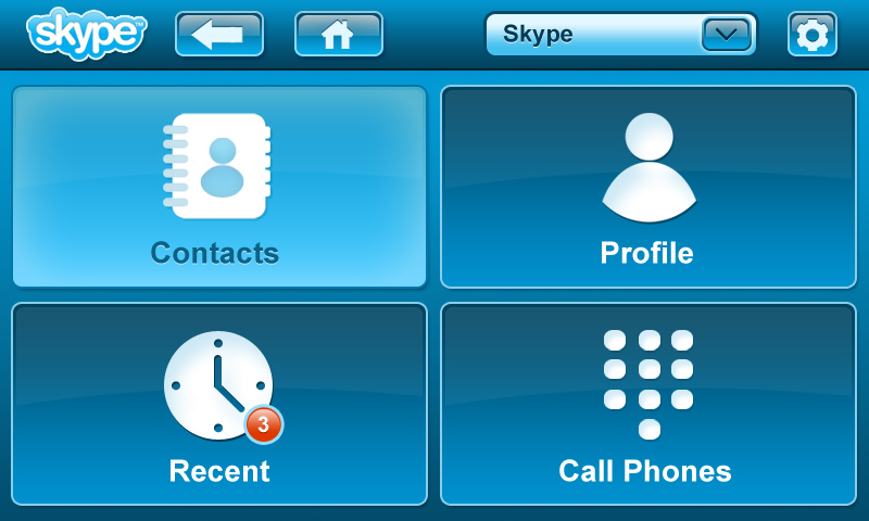 Skype VoIP Application Software