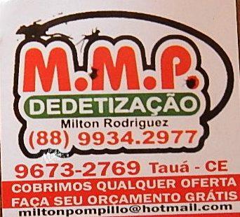 M.M.P DEDETIZAÇÃO - TAUÁ.