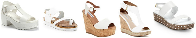 Candie's T-Strap Platform Sandals $34.99 (regular $54.99)  NYLA Eva Platform Sandal $46.97 (regular $99.95)  Steve Madden Korkey Ankle Strap Wedge Platform Sandal $53.56 (regular $79.95)  Charles David Olivia T-Strap Platform Wedge Sandal $89.97 (regular $170.00)  Kate Spade New York Tasely Lattice Platform Leather Sandals $175.00 (regular $250.00)