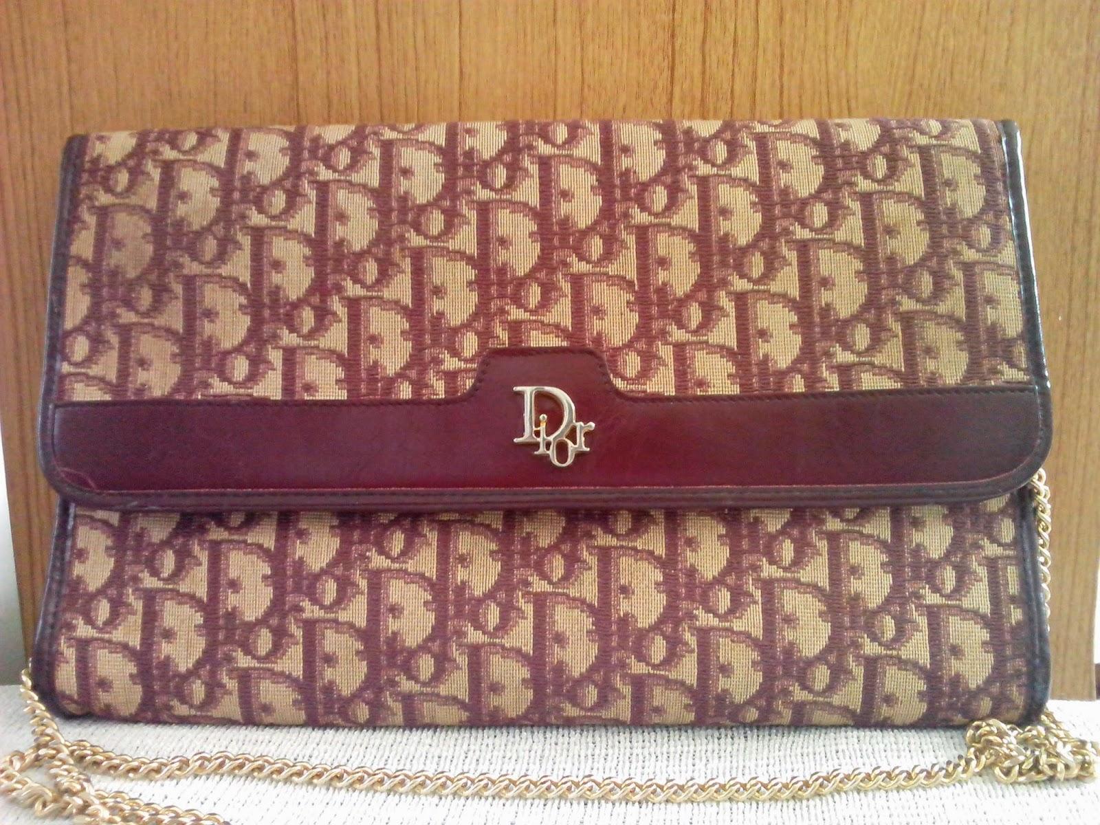 bkk vintage lovers  authentic fashion vintage bags  u0026 accessories  christian dior classic
