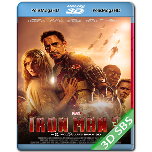 IRON MAN 3 (2013) 3D SBS 1080P HD MKV ESPAÑOL LATINO
