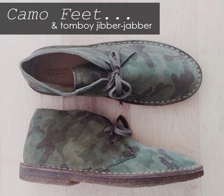 Camo Crew Cuts J.Crew MacAlister kids shoes, tomboy