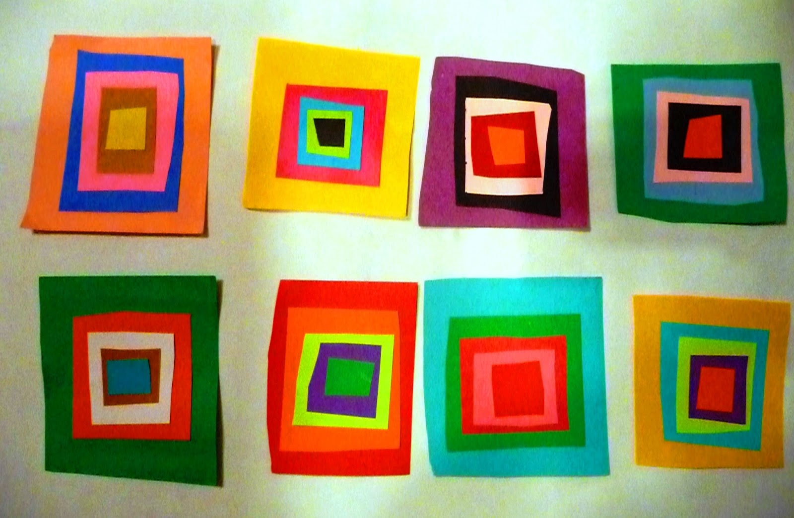 Geo Squares or Paper Quilting | Choices for Children : quilting with kids - Adamdwight.com