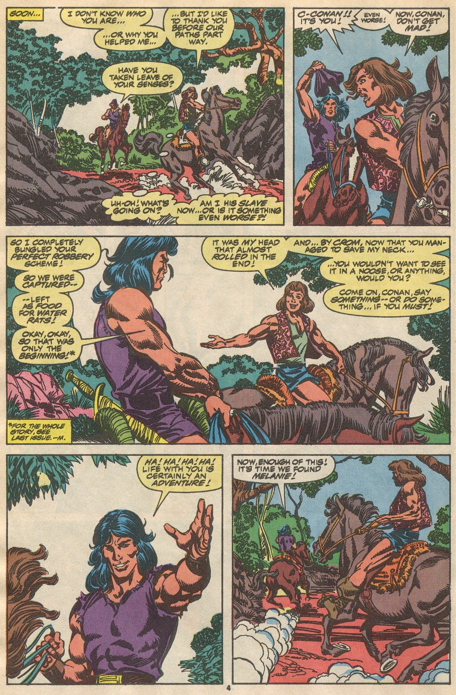 Conan the Barbarian (1970) Issue #237 #249 - English 5