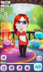 Hình ảnh 2 in Tải game My talking Angela cho Java