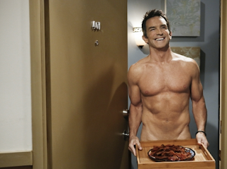 Jeff Probst Naked on Two And A Half Men