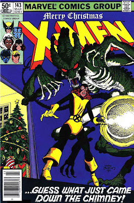 X-men v1 #143 marvel comic book cover art by John Byrne
