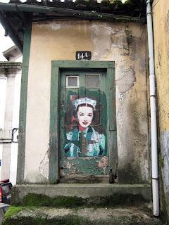 painting, btoy, mural, stencil, street art