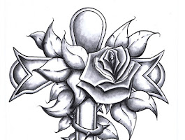 Drawings Hearts And Roses Tattoo Designs